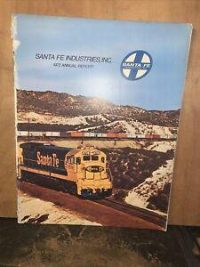 1968 Santa Fe Industries Inc Railroad Annual Report