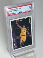 1996 COLLECTOR'S CHOICE KOBE BRYANT LAKERS Rookie RC, PSA 7 NRMT Basketball Card
