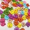 50/100pcs Mix Bear Plastic Button DIY sewing appliques crafts notion PT125