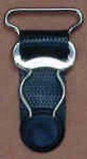 "Garter Grips - Set of 4 - Black Plastic Tab - Sew In - 3/4""  Wide"
