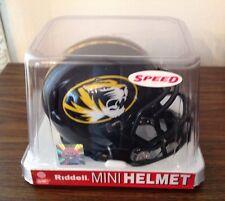 Ncaa College Speed Mini Helmets Missouri Tigers By Riddell