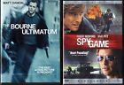 The Bourne Ultimatum (DVD, 2007) & Spy Game (DVD, 2002, Widescreen; C.E., DVD)
