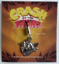 Crash Of The Titans Bandicoot EU PROMO 2007 Cel-Phone Metal Mascot figure strap