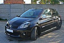 Carbon Cup Spoilerlippe Renault Clio 3 III RS Lippe Diffusor schwert Splitter