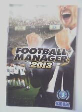 49848 Instruction Booklet - Football Manager 2013 - PC (2012)