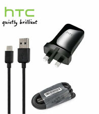 GENUINE HTC TCP900 1.5A Wall Mains Charger + USB C Data Cable for HTC 10 / U
