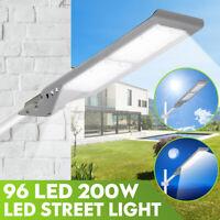 AUGIENB 200W 14000 LM LED Light Outdoor Garden Street Wall Lamp Waterproof a1z