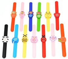 Childrens Kids Snap Band On Wrist Watch Butterfly Monkey Ladybird Tiger Cat Bee