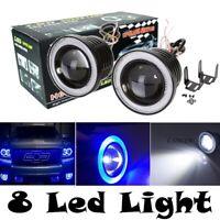 30W Car LED COB Halo Ring Angel Eyes Light Headlight DRL Driving Fog Lamp Bulb