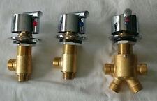 Armatur Mischbatterie für Whirlpool Badewannen aus Messing / Verchromt
