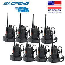 8x Baofeng Bf888S Uhf 400-470 Mhz 5W Scramble Handheld Two-way Amature Ham Radio