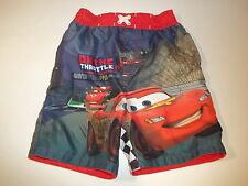 Disney Pixar Cars Swim Trunks Shorts Toddler Boy's Multi Color Size 4T