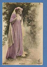REUTLINGER  FRENCH  POSTCARD  -  ACTRESS  -   PIERAT  -  1907