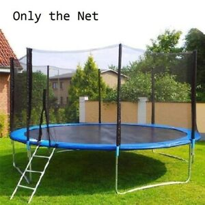 8Ft Trampoline Safety Protection Net For Kids Teens Outdoor Protection Guard Toy