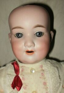 AM 560 RARE character doll, 21-in Armand Marseille German bisque ball-jointed