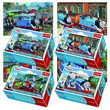 Trefl Mini 4 x 54 Stücke Kinder Unisex Thomas The Tank Engine Puzzle neu