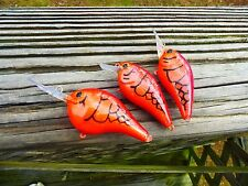 CUSTOM PAINTED LUCKYCRAFT SQUAREBILL OR RAPALA STYLES CRANKBAIT DEMON CRAW COLOR
