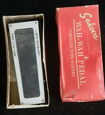 Sekova Wah-Wah Pedal in Box, Vintage Guitar Accessory
