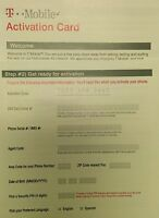 New Tmobile activation kit without Sim. Tmobile Activation Code Prepaid Require