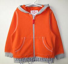 HANNA ANDERSSON Survivor Sweatshirt Jacket Hoodie Bright Tomorrow 140 10 NWT