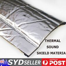 Adhesive Heat Shield Insulations Sound Proofing Auto Hood Noisy Thermal Blocker