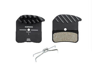Shimano H03A - Resin Disc Brake Pads Alloy Backed with Cooling Fins