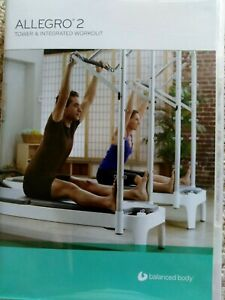 Allegro2 Pilates Tower & Integrated Workout DVD RARE Balanced Body Fast FREEpost