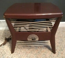 Vintage Berns Air King Floor Circulator Hassock Electric Fan industrial ottoman