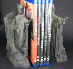 The Lord of the Rings Hobbit LOTR The Gates of Gondor Argonath Bookends Statue