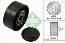 NEW INA V-RIBBED BELT DEFLECTION GUIDE PULLEY OE QUALITY REPLACEMENT 532 0468 10