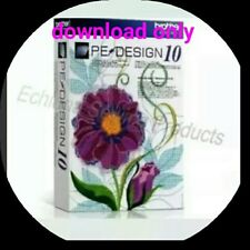 Brother Pe Design 10 Full Version Software &free Gifts instant download..