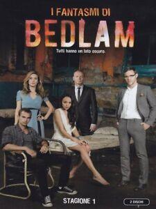 I Fantasmi Di Bedlam - Stagione 1 - Cofanetto 2 Dvd  - Nuovo Sigillato