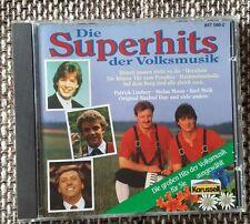 1 CD   Die Superhits der Volksmusik