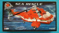 2000 Sea Rescue Helicopter Mega Blocks Pro-Builder Collector Series #9741