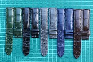 18mm/14mm Genuine Alligator Crocodile SKIN Leather Watch Strap Band