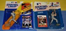 NEW YORK YANKEES lot 1988 Don Mattingly 1992 Kevin Maas Starting Lineup