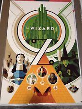 TOM WHALEN - Wizard of Oz Art Print Poster Pixar Disney *RARE* mondo