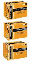 30 X Duracell AA Industrial Battery MN1500 Alkaline Replaces Procell Expiry 2021