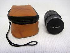 Carenar EEM 135mm F2.8 Lens w/Caps For Minolta XG1 Mount Camera-Clean! Clear!