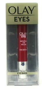 Olay Eyes Depuffing Eye Roller for Under Eye Bags 0.2 fl oz Anit-Aging Makeup