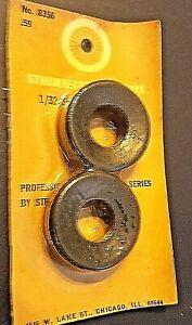 """Strombecker 1/32 """"Soft Wide Slicks""""  No. 8356 on sealed vintage factory card."""