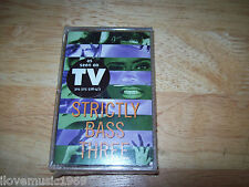"BRAND NEW Strictly Bass Three CASSETTE TAPE MINT Club Mix/Remixes /Dub/12"" Mix"