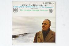 Bruckner Symphony 4 Bruno Walter Columbia Symphony Orchestra 2. LP del 2 (lp39)