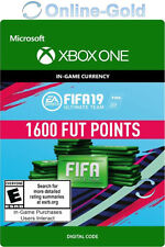 1600 FUT Points FIFA 19 - Xbox One Ultimate Team - FIFA FUT Points 1600 Code