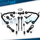 Front Upper Control Arms Ball Joint Tie Rod Chevy Tahoe 2WD Control Arms 13pc