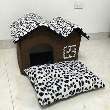 Soft Pet Bed Puppy Cat Dog Spot House Warm Cushion Mat Bedding Indoor Portable