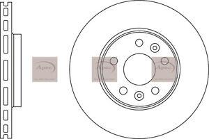 DSK3187 Front Discs Vauxhall Vivaro/Fiat Talento & Renault Traffic 1.6 2014- X82