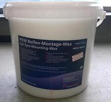 Savon pour montage pneu 5kg ( cire creme pate blanche ) pour BMW