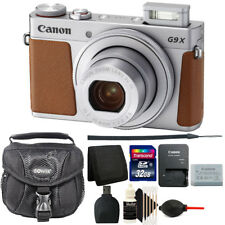 Canon Powershot G9 X Mark II Digital Camera Silver with Starter Bundle