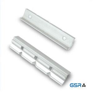 GSR Schonbacken, Schutzbacken für Schraubstock 100/125/150mm Alu/Prismen, Magnet